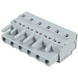 Federleiste 6-polig, RM 7,5 mm WAGO 231-206/026-000
