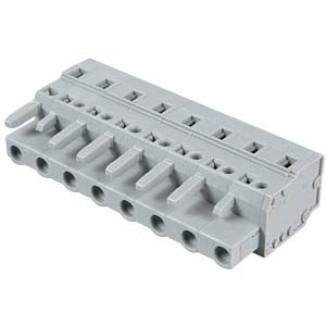 Female multipoint connector, 8-pin, RM 7.5 mm WAGO 231-208/026-000