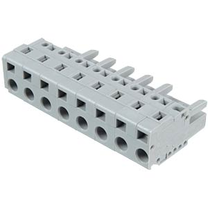 Federleiste 8-polig, RM 7,5 mm WAGO 231-208/026-000