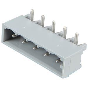 Pin header, angled, 5-pin, RM 5.0 mm WAGO 231-435/001-000