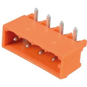 Print pin header, midi, RM 5.08, angled, 4-pin WAGO 231-534/001-000
