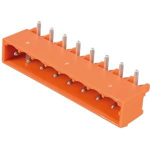 Print pin header, midi, RM 5.08, angled, 8-pin WAGO 231-538/001-000