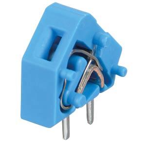 Leiterplattenklemme, anreihbar, RM 5,08, blau WAGO 236-744