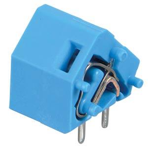 Leiterplattenklemme, anreihbar, RM 10,16, blau WAGO 236-764