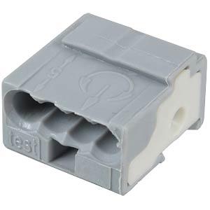 WAGO pillar terminal for PCB, grey WAGO 243-721