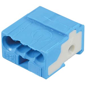 WAGO pillar terminal for PCB, blue WAGO 243-722
