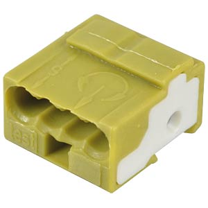 WAGO pillar terminal for PCB, light green WAGO 243-724