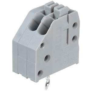 Klemmleiste mit Betätigungsdrückern, RM 2,5 mm, 4A, 2-pol WAGO 250-402