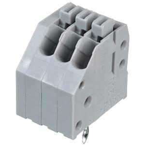 Klemmleiste mit Betätigungsdrückern, RM 2,5 mm, 4A, 3-pol WAGO 250-403