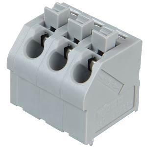 Klemmleiste mit Betätigungsdrückern, RM 5,0 mm, 17,5A, 3-pol WAGO 250-503