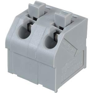 Klemmleiste mit Betätigungsdrückern, RM 7,5 mm, 17,5A, 2-pol WAGO 250-602