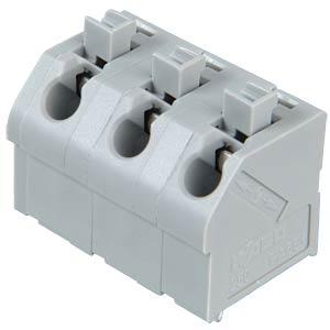 Klemmleiste mit Betätigungsdrückern, RM 7,5 mm, 17,5A, 3-pol WAGO 250-603