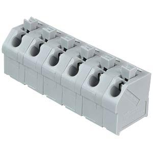 Klemmleiste mit Betätigungsdrückern, RM 7,5 mm, 17,5A, 6-pol WAGO 250-606