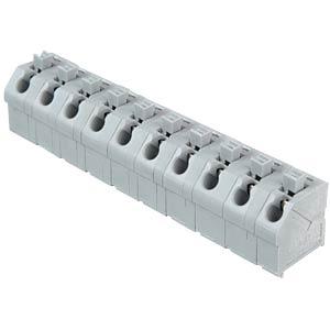 Klemmleiste mit Betätigungsdrückern, RM 7,5 mm, 17,5A, 10-pol WAGO 250-610