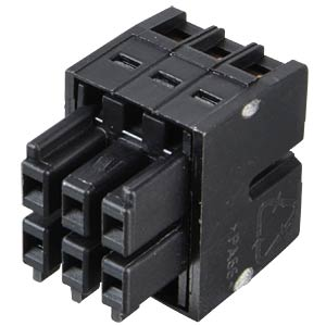 WAGO MINI HD, female multi-point connector, 2x3-pin, RM 3.5 WAGO 713-1103