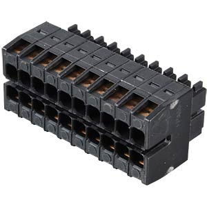 WAGO MINI HD, female multi-point connector, 2x10-pin, RM 3.5 WAGO 713-1110