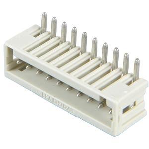 Print pin header, micro, RM 2.5, angled, 10-pin WAGO 733-370