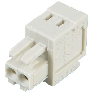 CAGE-CLAMP female multi-point connector, mini, RM 3.5, 2-pin WAGO 734-102