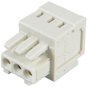 CAGE-CLAMP female multi-point connector, mini, RM 3.5, 3-pin WAGO 734-103