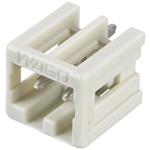Print pin header, mini, RM 3.5, straight, 2-pin WAGO 734-132