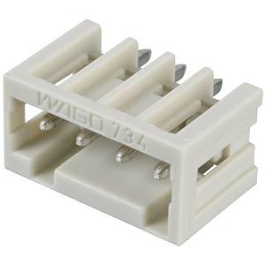 Print-Stiftleiste, Mini, RM 3,5, gerade, 4-polig WAGO 734-134