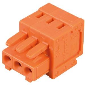 CAGE-CLAMP Federleiste, Mini, RM 3,81, 3-polig WAGO 734-203