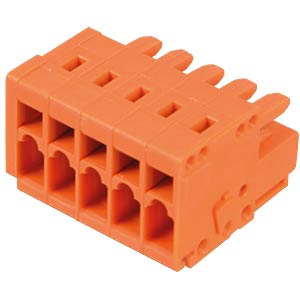 CAGE-CLAMP Federleiste, Mini, RM 3,81, 5-polig WAGO 734-205