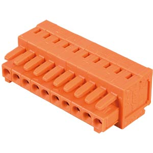 CAGE-CLAMP female multi-point connector, mini, RM 3.81, 10-pin WAGO 734-210