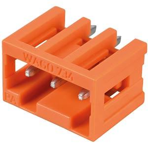 Print pin header, mini, RM 3.81, straight, 3-pin WAGO 734-233
