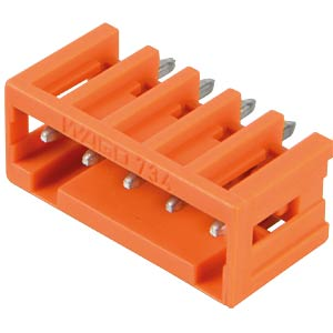 Print pin header, mini, RM 3.81, straight, 5-pin WAGO 734-235