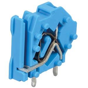 Leiterplattenklemme, anreihbar, RM 5, blau WAGO 745-804