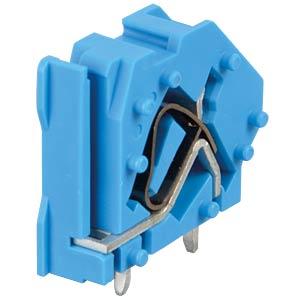 Leiterplattenklemme, anreihbar, RM 7,5, blau WAGO 745-834
