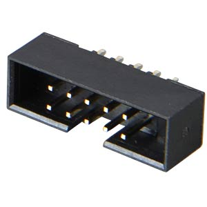 2x5-pin box power strip, straight, RM 2.00 FREI