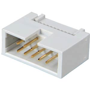 Box connector, 10-pin, IDC connector FREI