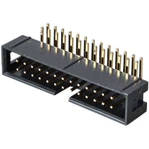 Box connector, 26-pin, angled FREI