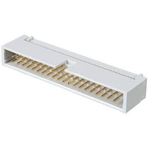 Blokstekker, 40-polig, snijklemtechniek FREI