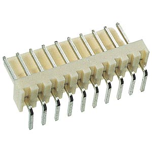 Print connector, single connector, angled, 8-pin FREI