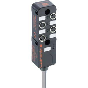 passive distributor, M8, 4 x 3 pin, 10 m LUTRONIC 5000 04L1 307 10M