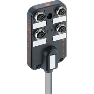 passive distributor, M12, 4 x 5 pin, 5 m LUTRONIC 5500 04DL1 314 5M