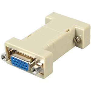 Gender Changer, Adapter, 2 x 15-pol. HD ST/BU FREI