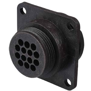 14-pin holder for empty housing for socket contacts TYCO-ELECTRONICS 0-0182641-1