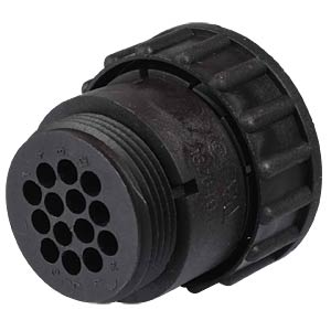 14-pin plug for empty housing for pin contacts TYCO-ELECTRONICS 0-0182649-1