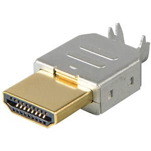 HDMI-Stecker 1.3, Metallausführung FREI