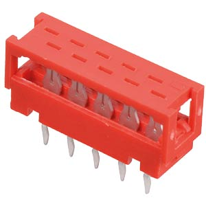 PCB connector Micro Match, 6-pin MPE-GARRY 371-1-006-T-KT0