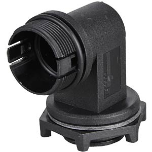 Field-mounted connector, angled 90° BULGIN PX0803