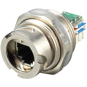 RJ45 installation housing, IDC connector, shielded, metallic CONEC 17-10034