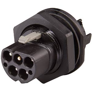 Device connection, 5-pin, M25 x 1.5 — male connector WIELAND 96.052.5053.1