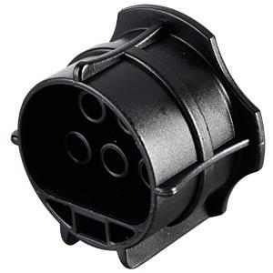 RST locking piece, 4-pin to 5-pin, plug, black WIELAND 05.565.9953.1