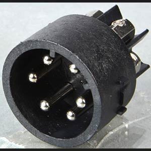 Screw terminal insert, plug (6-pin) BULGIN SA3243