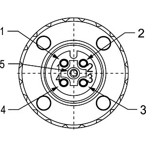 SAL M12x1, 5-pol, Buchse CONEC 43-00094